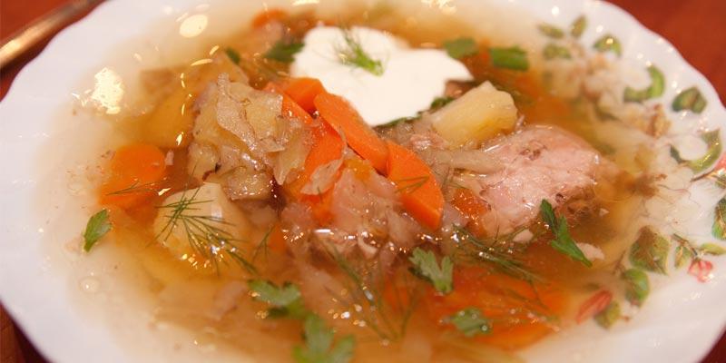 Суп овощной с курицей в мультиварке