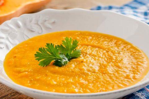 Тыквенный суп пюре в мультиварке