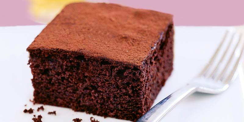 Шоколадный бисквит в мультиварке фото