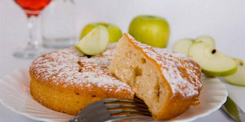 фото пирога с яблоками