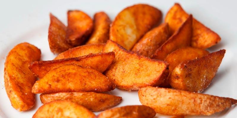 Картошка по-деревенски в мультиварке фото